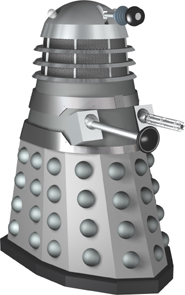 Dalek 1 from THE DALEKS, THE MUTANTS, THE DEAD PLANET